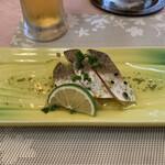 レストラン三ツ星 - 料理写真:イサキのマリネ