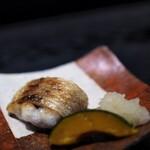 麻布十番松栄寿司 - のどくろ炭火焼
