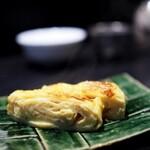 麻布十番松栄寿司 - 玉子焼き