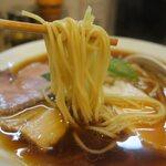 137057939 - 美味しい中太ストレート麺です