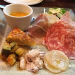 イタリア食堂SORA - 前菜盛り合わせ