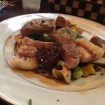 イタリア食堂SORA - 糸島産豚肉のソテー