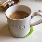 はちの巣カフェ - コーヒー(HOT)(税込 400円)評価=△