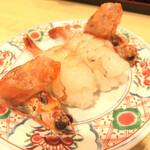 まわる寿司 博多魚がし - 赤エビ ¥380