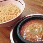 らーめん能登山 - つけ麺(790円) 12.01.23.