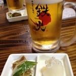 13707476 - 鉄火・ビール