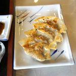 白龍 - 日替わり定食の餃子