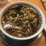 玲鈴 - 高菜と豚肉の細切り中華麺