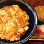 137073551 - 中村農場の親子丼 スープ付(税別1008円)