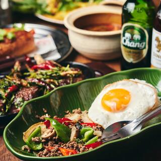 全部がおすすめ料理❗️【手造り】に拘る《創作アジア料理》✨