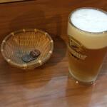 あ久利 - 生ビール280円