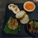 Kitchen Bar Noel  - 前菜盛り