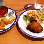 本格インド料理&定食トップスパイスTop Spice - ポテトフライ&チキンティッカー