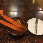 大和寿司 - かに汁