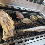 とれとれ海鮮バーベキュー - 料理写真: