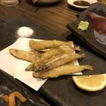 魚房三徳 - キビナゴ天ぷら