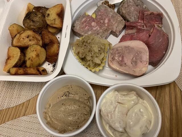 マイユの料理の写真