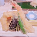 すし 堺 - 天ぷら盛り合わせ