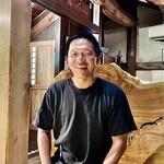 Tsurukikyo - ご主人の西澤さん。柔かな笑顔で人の良さが滲み出ている ♫