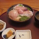 本家鮪屋 - 炙り三昧丼定食