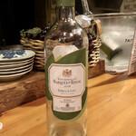 おでん&ワイン カモシヤ - ハウスワイン白 マルケス・デ・リスカル オーガニック ブランコ