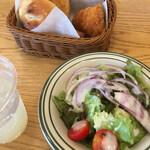 アンティーク - サラダはイマイチ
