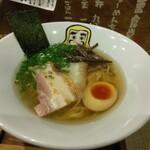 大重食堂 - 純らーめん七節(950円