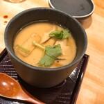 希凛 - 松茸と焼き穴子の茶碗蒸し
