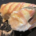 ジャパン キッチン アキバ - モーニング洋食1980円。神奈川県相模原「長寿卵」のふわふわオムレツ。卵白を泡立てて、卵黄と合わせているようです。ふわふわのトロトロで、とても美味しくいただきました(╹◡╹)