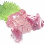 焼鳥和房 えん福 - 軍鶏刺身絶品でした。