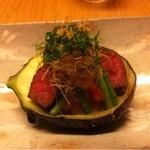和田倉 - お肉と茄子の田楽