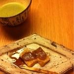 和田倉 - 蕨餅。