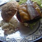 レストラン AQUA - ハンバーガー