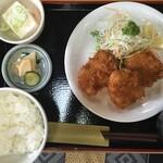 一源 - ヒレカツ定食(¥840)