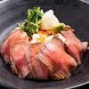 瀬の本レストハウス - 料理写真:あか牛ローストビーフ丼
