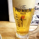 博多とりかわ 長政 - 生ビール:480円+税