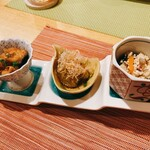 釜飯と和食 旬 - お通し