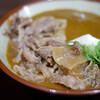 香川一福 - 料理写真:カレーうどん、肉トッピング