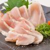 炭火焼き鳥 一鶏。 - 料理写真:播州百日どりむね肉のたたき 650円