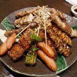 すずめ - 料理写真:串盛り合わせ