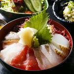 あいたか - 五島列島の鮮魚の海鮮丼!