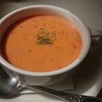 キッチン ぴーなっつ - トマトクリームスープ