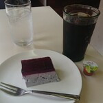キッチン ぴーなっつ - デザート、アイスコーヒー