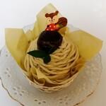 ミズノヤ - 料理写真:岩間栗のモンブラン 626円税込