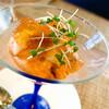 ビストロ ル・ボントン - 料理写真:トマトのムース 海老とコンソメジュレ添え