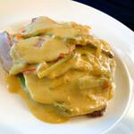 ビストロ ル・ボントン - 豚ロース肉のポワレ シャルキティエールソース