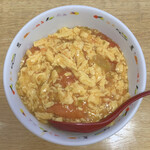 ニイハオ!ポンユウ - トマト タマゴ丼