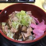華乃蔵 - ミニチャーシュー丼