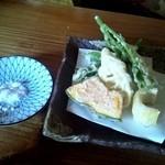 瀧茶屋 - つけめんそばセット(しょゆつゆ)②(2012/6)
