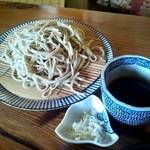 瀧茶屋 - つけめんそばセット(しょうゆつゆ)③(2012/6)